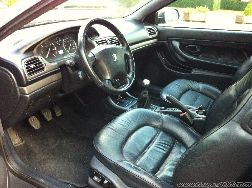 Voir le sujet chez 2005pierric 2 2 for Interieur 406 coupe