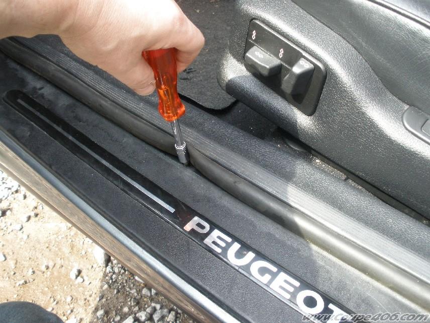 Achat voiture joint de porte 406 - Coupe vent bas de porte ...