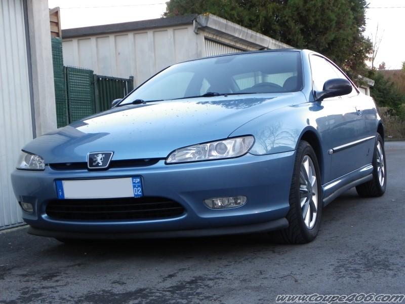 Nickos mon coup 406 bleu riviera votre voiture for Interieur 406 coupe